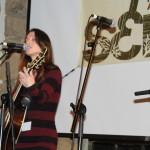 Natasha during her official showcase at SERFA 2014
