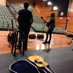 Sound check! Nancy Beaudette & Natasha Borzilova