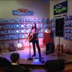 Natasha Borzilova at WDVX Blue Plate Special in Knoxville, TN
