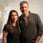 Natasha with director Mark Mosrie