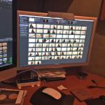 Natasha Borzilova-White Noise video shoot and edit